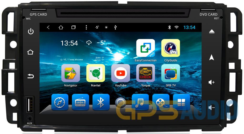 Штатное головное устройство Chevrolet Tahoe, Hummer H2 на Android
